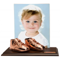 Bronze - Baby Shoes - 8x10 frame  - Product Code #14