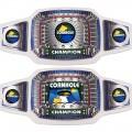 "Championship Belt - Silver ""Cornhole"" Belt"