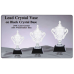 Cups - CRY327 - 24% Lead Crystal on Black Crystal Base - 13""