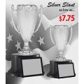 """Cups - Econo Slant Silver Stipple - 11"""""""