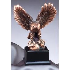 "Eagle Awards - Bronze Eagle on Rocks 4.5"""