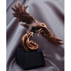 Eagle Awards - Bronze Eagle Turning 12.5""