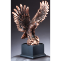 Eagle Awards - Bronze Eagle on Rocks 12""
