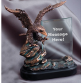 Eagle Awards - Bronze Eagle with Glass 9.5""