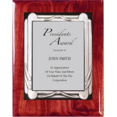 Plaques - Pewter Deco Frame Series