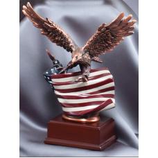 "Eagle Awards - Bronze Eagle on Flag 10"""
