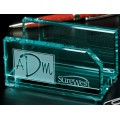 Crystal Business Card Holder - #3375