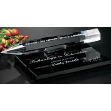 Paperweight - Ebony Crystal Pencil #6035