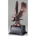 Eagle Awards - Bronze Eagle in Flight 10.5""