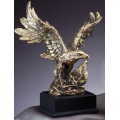 Eagle Award - #Gold Eagle Perched 11""