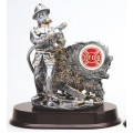 Resin Trophies - #Fireman Award with logo