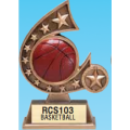 "Resin Trophies - #5.75"" Resin Comet Series Sports Award"