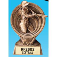 "Resin Trophies - #Softball 6"" Resin Award"