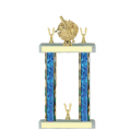 Trophies - #Baseball Laurel F Style Trophy