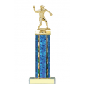 Trophies - #Baseball Pitcher D Style Trophy