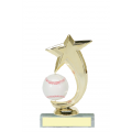 Trophies - #Baseball Shooting Star Spinner A Style Trophy