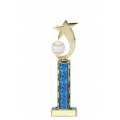 Trophies - #Baseball Shooting Star Spinner B Style Trophy