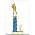 Trophies - #Baseball Batter C Style Trophy