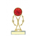 Trophies - #Basketball Vertical Star Riser A Style Trophy