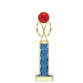 Trophies - #Basketball Vertical Star Riser B Style Trophy