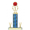 Trophies - #Basketball Vertical Star Riser E Style Trophy