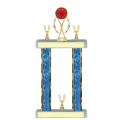 Trophies - #Basketball Vertical Star Riser F Style Trophy
