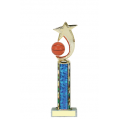 Trophies - #Basketball Shooting Star Spinner B Style Trophy