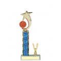 Trophies - #Basketball Shooting Star Spinner C Style Trophy