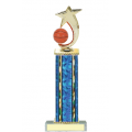 Trophies - #Basketball Shooting Star Spinner D Style Trophy