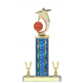 Trophies - #Basketball Shooting Star Spinner E Style Trophy