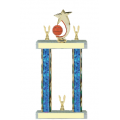 Trophies - #Basketball Shooting Star Spinner F Style Trophy