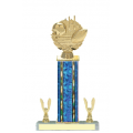 Trophies - #Football Laurel E Style Trophy