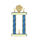Trophies - #Football Laurel F Style Trophy