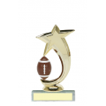 Trophies - #Football Shooting Star Spinner A Style Trophy