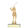 Trophies - #Golfer Style A Trophy - Female