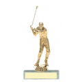 Trophies - #Golfer Style A Trophy - Male