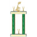 Trophies - #Golf Putter Style F Trophy - Male