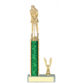Trophies - #Golf Putter Style C Trophy - Female
