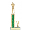 Trophies - #Golf Putter Style C Trophy - Male