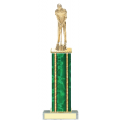 Trophies - #Golf Putter Style D Trophy - Male