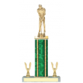 Trophies - #Golf Putter Style E Trophy - Male