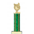 Trophies - #Golf Wreath Style D Trophy