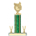 Trophies - #Golf Wreath Style E Trophy