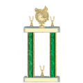 Trophies - #Golf Wreath Style F Trophy