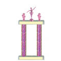 Trophies - #PINK Dance Ballerina F Style Trophy