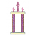 Trophies - #Beauty Queen Pink F Style Trophy