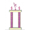 Trophies - #Modern Dance Pink F Style Trophy