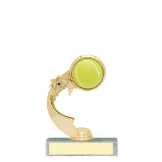 Trophies - #A-Style Tennis Ribbon Star
