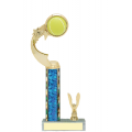 Trophies - #C-Style Tennis Ribbon Star
