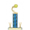 Trophies - #E-Style Tennis Ribbon Star